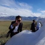 バヤンウルギーでカザフ人の結婚式に参加