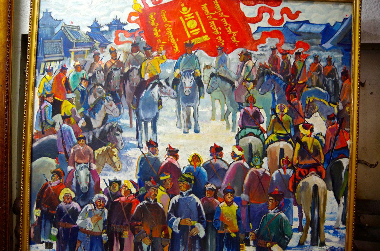 苦難に満ちたモンゴル独立への道