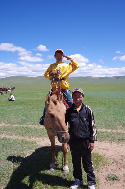 ハンガイモンゴル乗馬学校