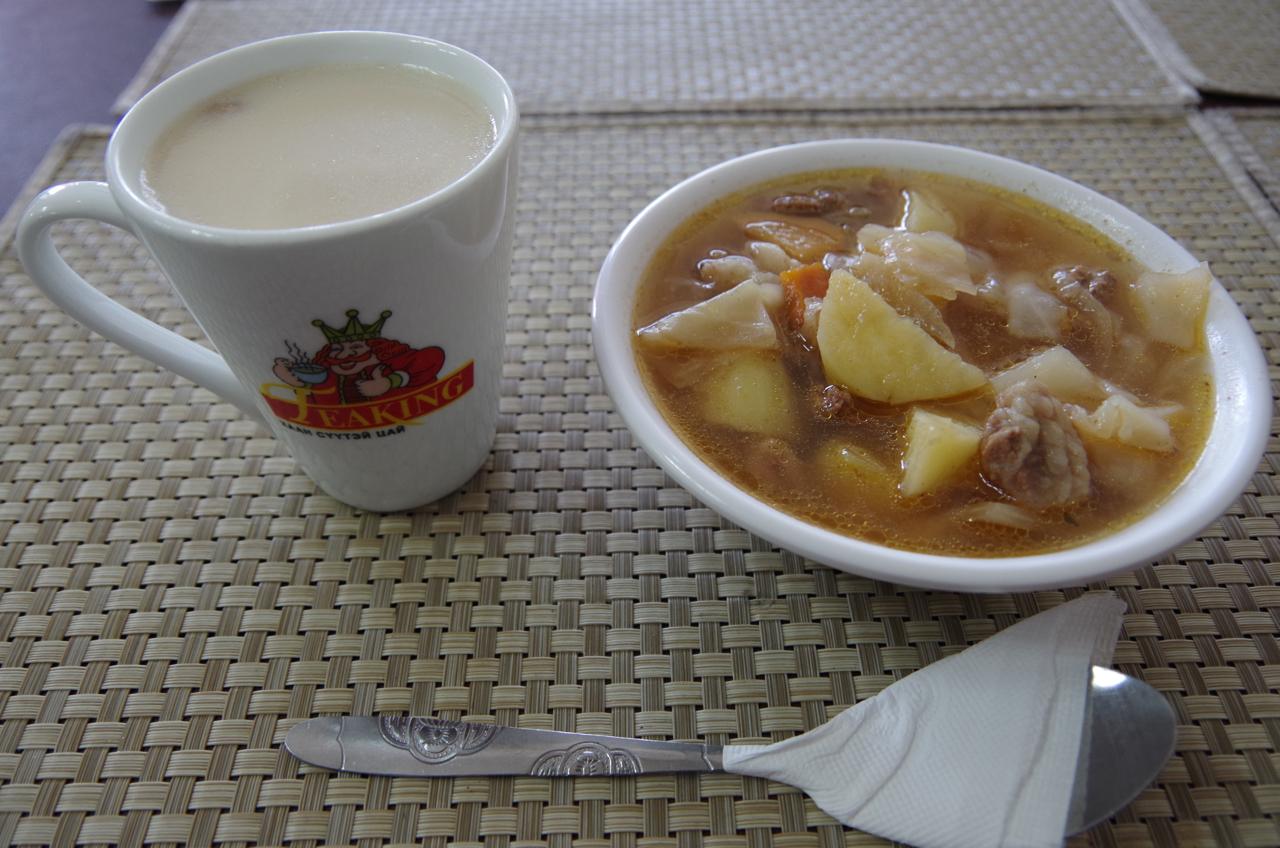 久しぶりのモンゴル料理