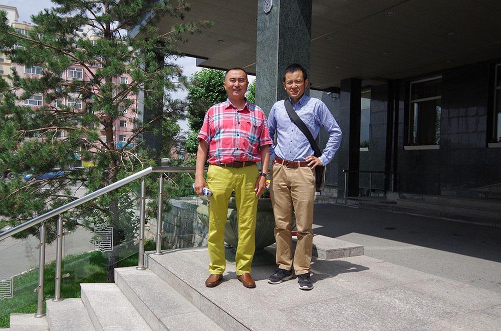 モンゴルの写真家Bayarさんとお会いさせていただきました!