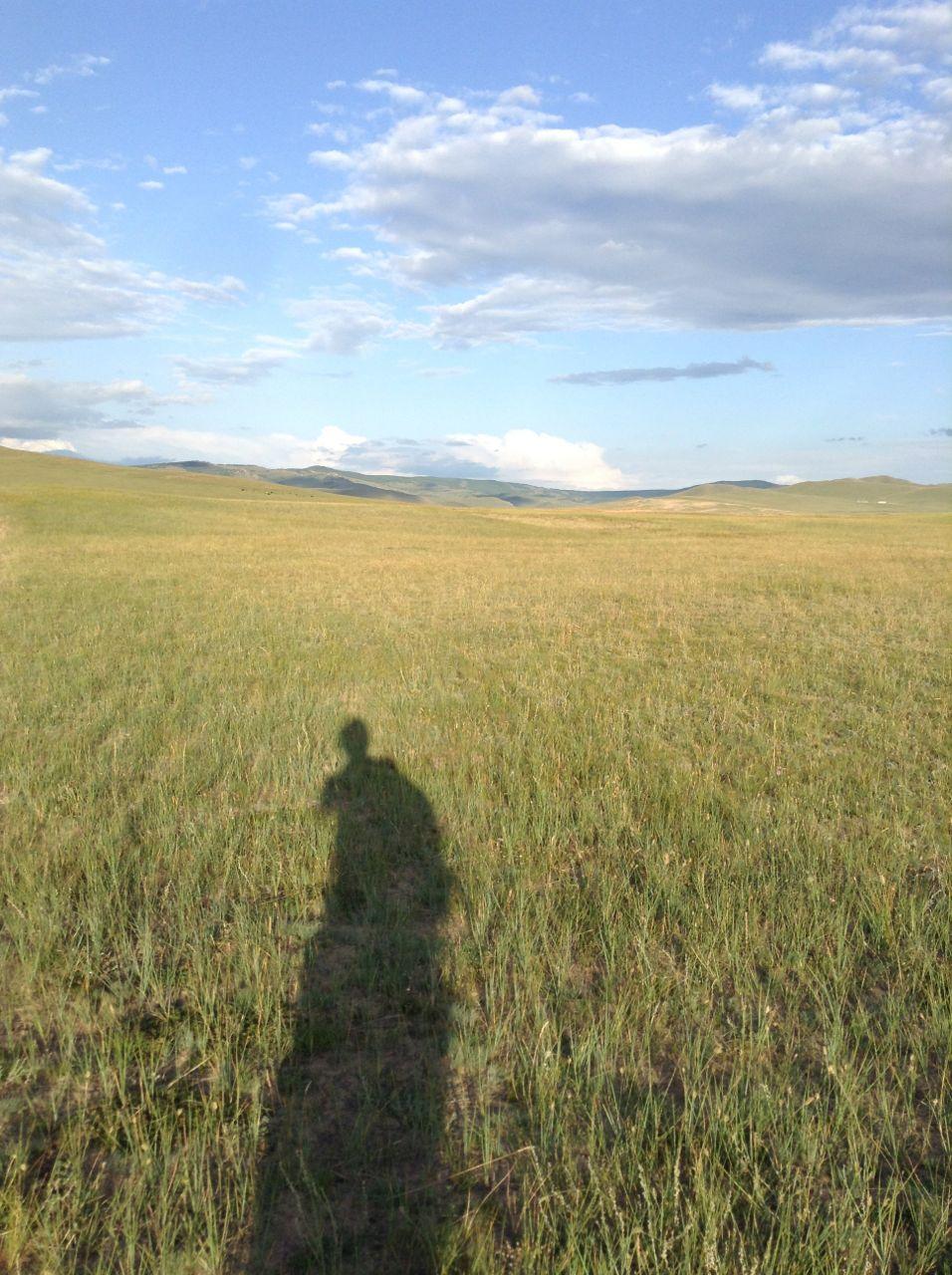 モンゴルで一年生活して 出国前の最後の日に・・・