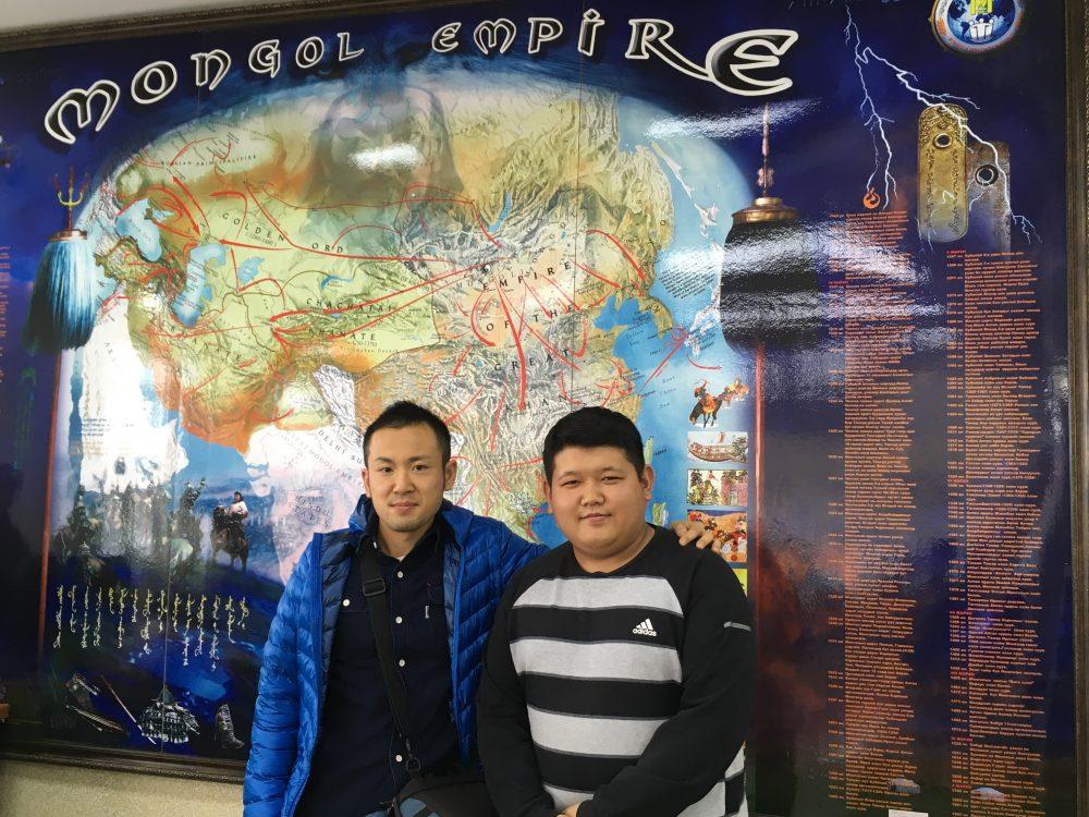 モンゴルに到着しました! モンゴル料理や旧友との再会