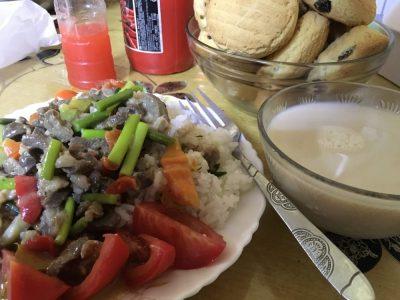ツオクト家のモンゴル料理